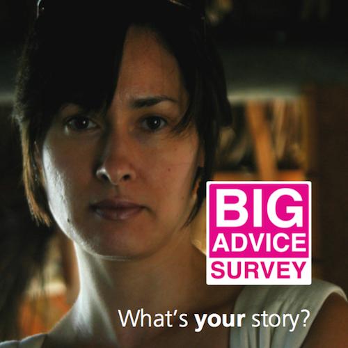 Complete the Big Advice Survey